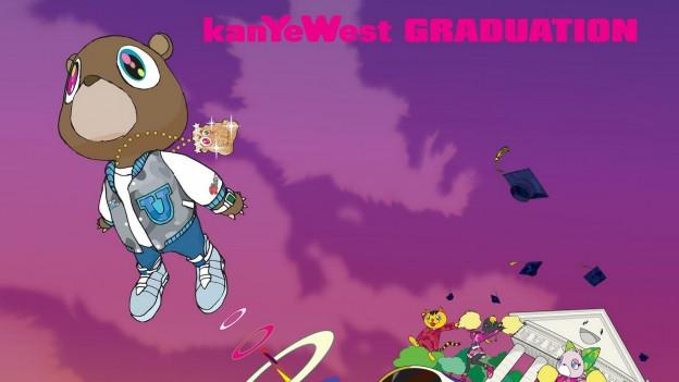 Das Plattencover von Kanye Wests drittem Album «Graduation» wurde von dem japanischen Künstler Takashi Murakami gestaltet.
