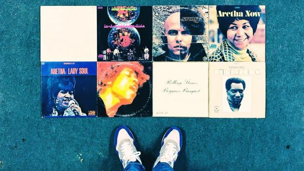 Musik von 1968 - Vom Weissen Album der Beatles über Klassiker von Aretha Franklin und den Stones... dieses Jahr hat in der Musikgeschichte grosse Spuren hinterlassen.