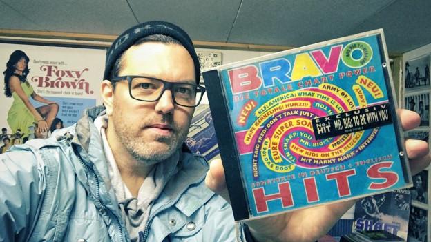 Die allererste BRAVO Hits CD von 1992... aus Nostalgiegründen immer noch in der Sammlung von DJ Pesa.