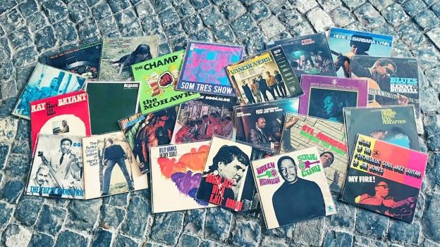 Einige Vinyl-Perlen mit dem Jahrgang 1968 aus meiner Plattensammlung.