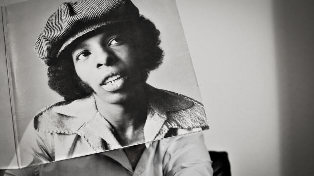 Sleeveface mit Sly Stone - einer meiner liebsten Soul-Musiker.