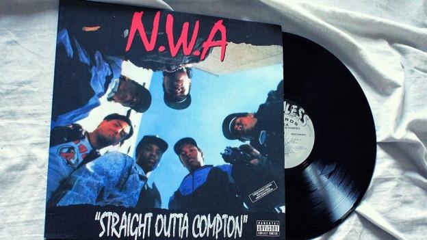«Straight Outta Compton» - eines der legendärsten Rap-Alben der Musikgeschichte.