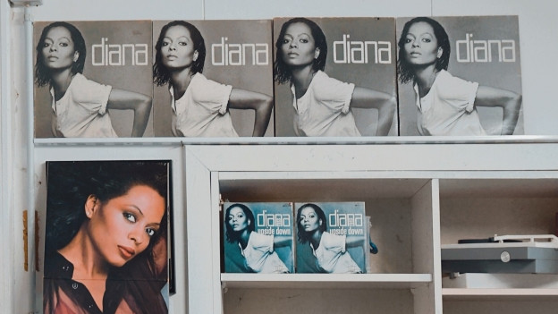 «Diana» - mein Lieblingsalbum der Soul-Diva. Ich kaufe es immer wieder, wenn ich es in einem Brocki oder auf einem Flohmarkt entdecke.