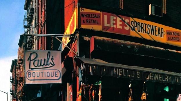 """""""Paul's Boutique"""" der New Yorker Rap-Gruppe Beastie Boys ist das """"Sgt. Pepper of Hip Hop""""."""