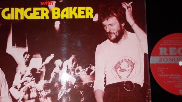Ginger Baker spielte auch mit Afrobeat-Ikone Fela Kuti zusammen