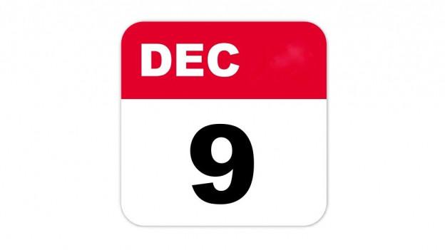 9. Dezember - Das heutige Datum in der Musikgeschichte