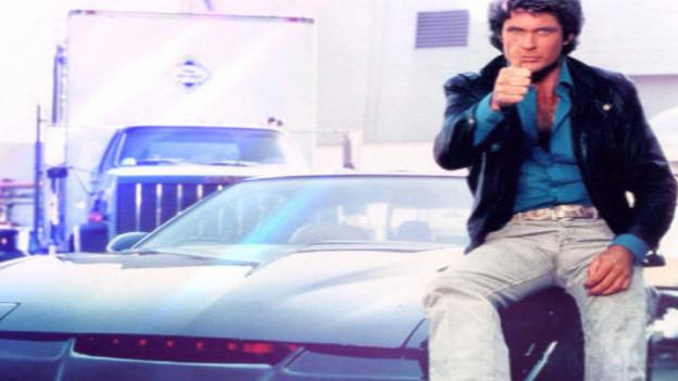 Auch er wurde in den 80ern zum Helden einer ganzen Fernsehgeneration: David Hasselhoff aka Michael Knight in der amerikanischen TV-Serie «Knight Rider».