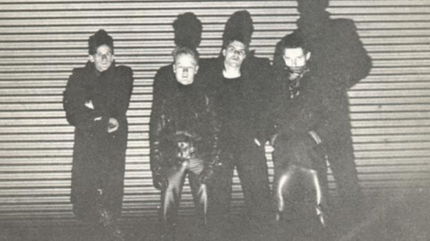 Zürcher Punkband Nasal Boys.
