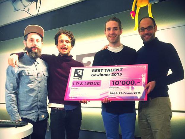 Best Talent 2015 Lo und Leduc