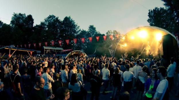 B-Sides Festival Bei Luzern.