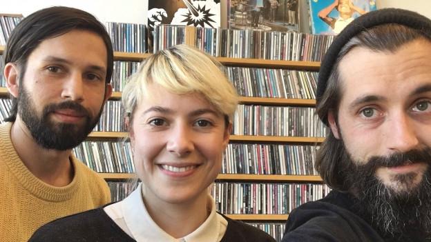 James Varghese und Daniela Weinmann sind Odd Beholder - zu Gast bei Andi Rohrer im Sounds! (v.l.n.r.)