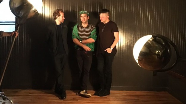 Bryce Dessner, Sufjan Stevens und Nico Muhly (v.l.)