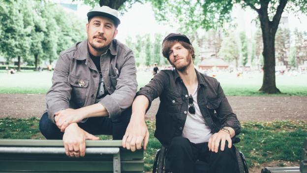 2/5 Portugal. The Man: Bassist und Songwriter Zack Carothers (l.) und Gitarrist Eric Howk (r.)