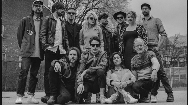 Kollektiv mit wechselnden MusikerInnen: Broken Social Scene