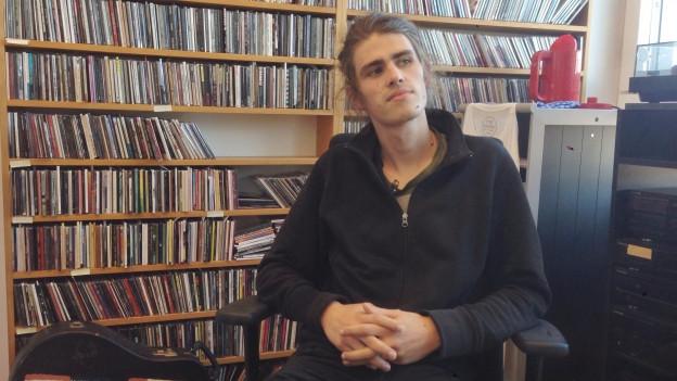 «Am Anfang stand mal die Idee, Clubmusik für die Kopfhörer zu kreieren,» Martin Schenker, Sänger und Gitarrist von Alois.