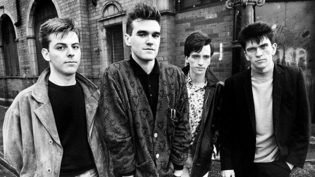 4 Alben in den 80ern: The Smiths mit Morrissey (2.v.l.) und Johnny Marr (2.v.r.)