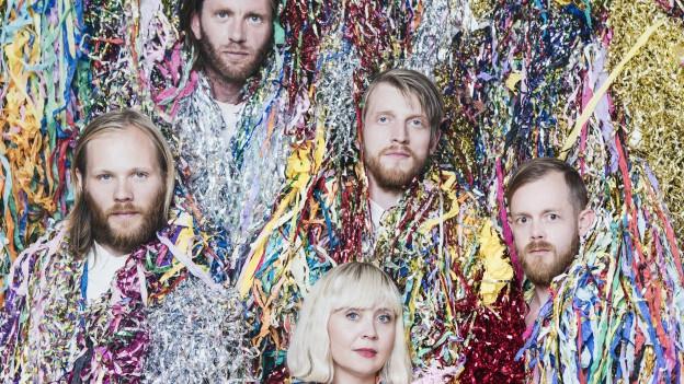 «In Island kannst Du mit den schrägsten Dingen Erfolg haben!» FM Belfast machens mit ihrem Spass-Disco-Sound.