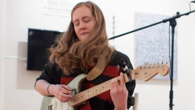 Kommt von der Jazz Gitarre: Sidney Gish aus Boston