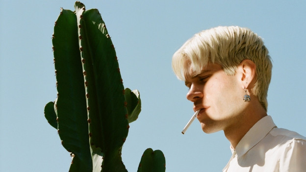 Schön inszenierter Synthie-Folk: Aaron Maine alias Porches aus New York.