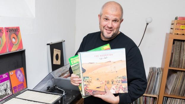Rainer Windisch: DJ und Vinylsammler
