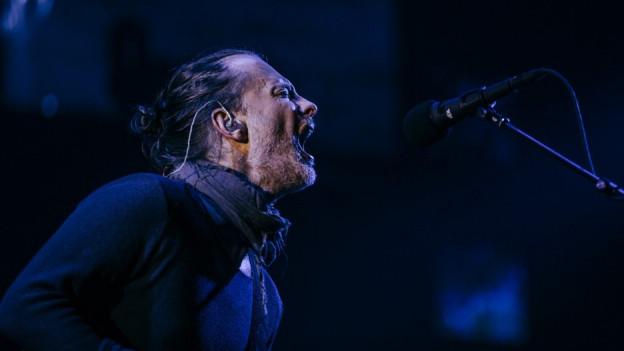 Vor zwei Jahren mit Radiohead am Openair St.Gallen: Thom Yorke.