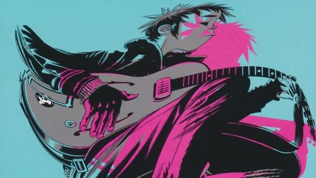 Ego-Show von «2-D»: Auf «The Now Now» hört man vorallem Damon Albarns Comic-Alias.