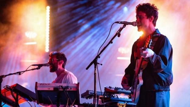 Weirdness trifft Pop: MGMT live am Paléo Festival 2018.