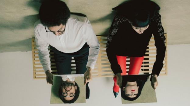 Broken Yeahs: Danger Mouse (von Broken Bells, l.) und Karen O (von den Yeah Yeah Yeahs) machen «Lux Prima.»