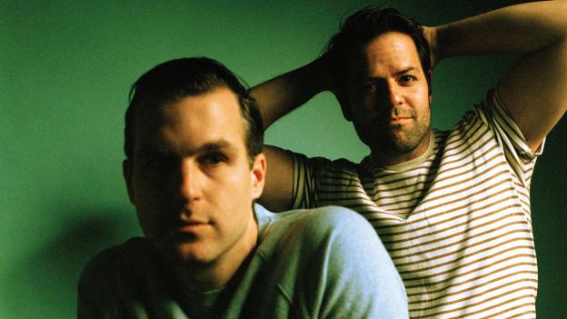 Bekannt vom heftigen Kreativkollektiv Fucked Up: Jonah Falco (r.) und Mike Haliechuk aus Toronto sind Jade Hairpins.