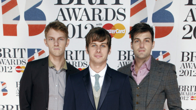Mit «Pumped Up Kicks» den Sounds! Sommerhit 2010 gelandet, dann 2012 dick an den Brit-Awards: Foster The Poeple.