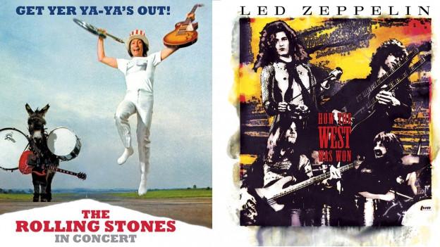 Alle Gitarren hoch! Legendäre Live-Alben im Rock-Summer-Special.