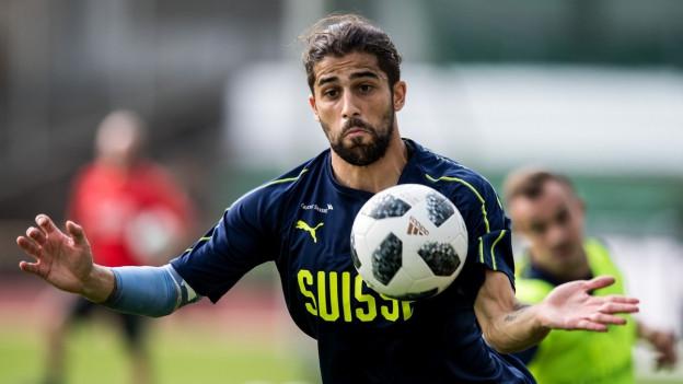 Ricardo Rodriguez im Training.