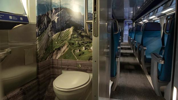 So sollen die neuen SBB Toiletten aussehen