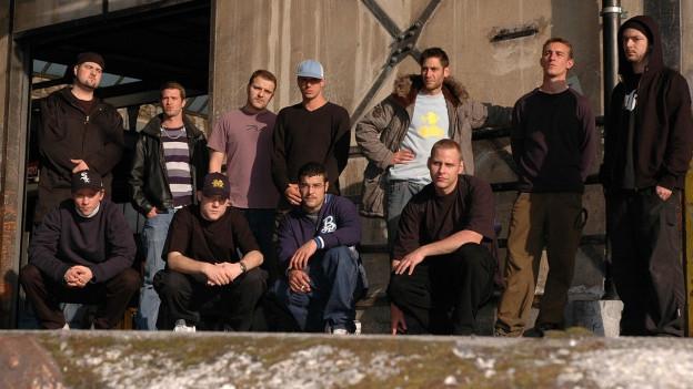 Gruppenbild vom Berner Kollektiv Chlyklass