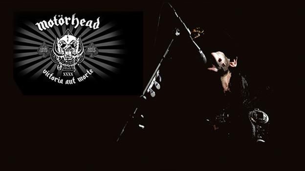 Ian Fraser Kilmister, besser bekannt als Lemmy auf der Bühne