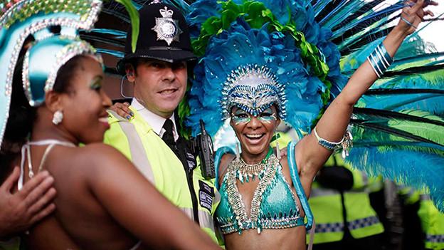 Am Montag, 31. August wird im Westen von London Notting Hill Carnival gefeiert.