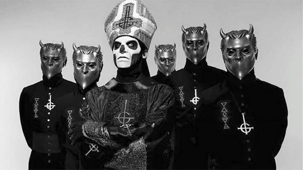 Neue Töne aus der Okkult-Ecke: die schwedische Band Ghost.