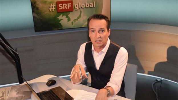 #srfglobal Moderator Florian Inhauser.
