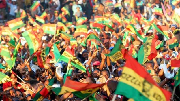 Menschenmenge am Rebel Salute Festival