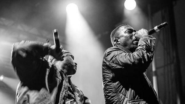 Wu-Tang Clan auf der Bühne