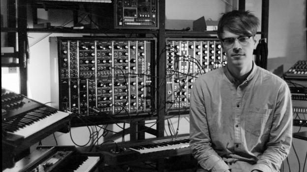 André Bratten in seinem Musikstudio