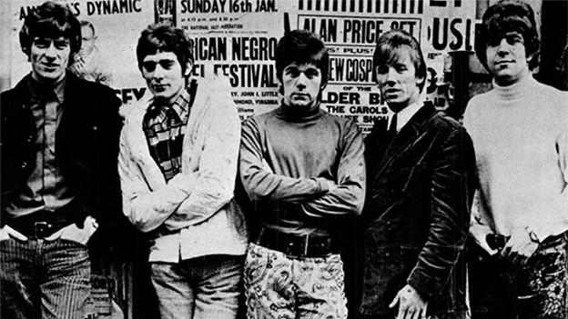 Gruppenbild der Band Dave Dee, Dozy, Beaky, Mick & Tich
