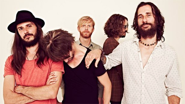 Bandfotografie von Temperance Movement