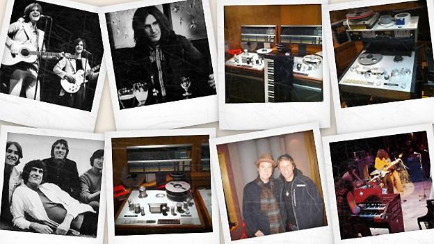 Polaroid-Bilder der Band The Kinks
