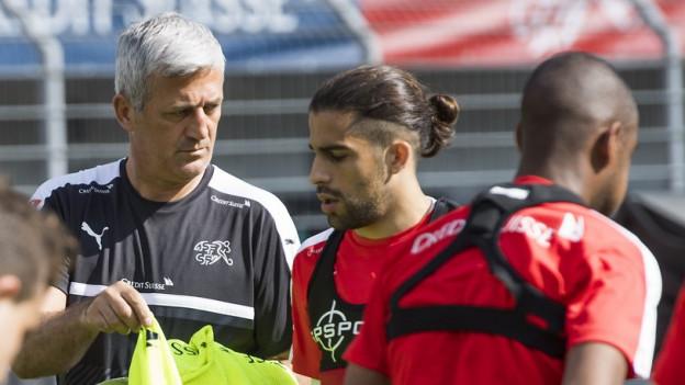 Petkovic mit Rodriguez.