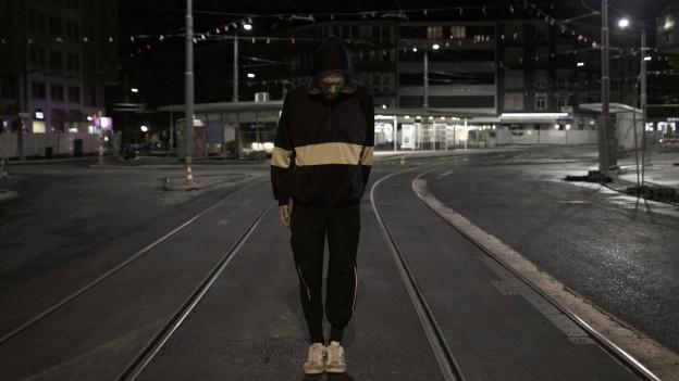 Dave Eleanor, Nacht, Albisriederplatz Zürich