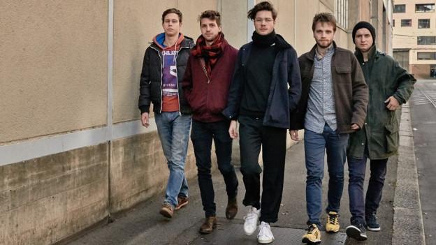 Badener Band Pedestrians
