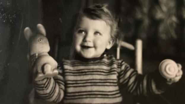 Barbara Bürer als Baby