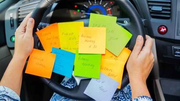 Die Pendenzenliste nimmt nicht ab, der Stress im Kopf zu.