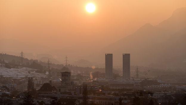 Chur – Hauptstadt des Kantons Graubünden.